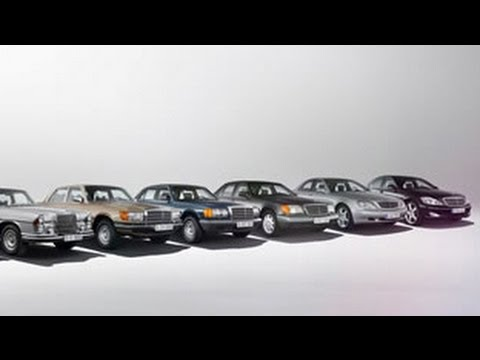 Mercedes Benz History Models >> 2014 Mercedes Benz S Class Photo History Youtube