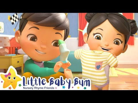 Getting Dressed | New Little Baby Bum | Baby Songs and Kids Cartoons