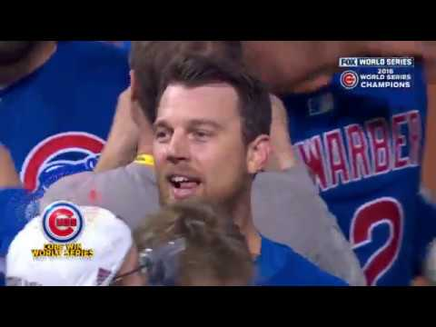 Cubs vs Indians World Series Game 7 final 3 outs - Radio boadcast TV sync 60fps (Pat & Ron)