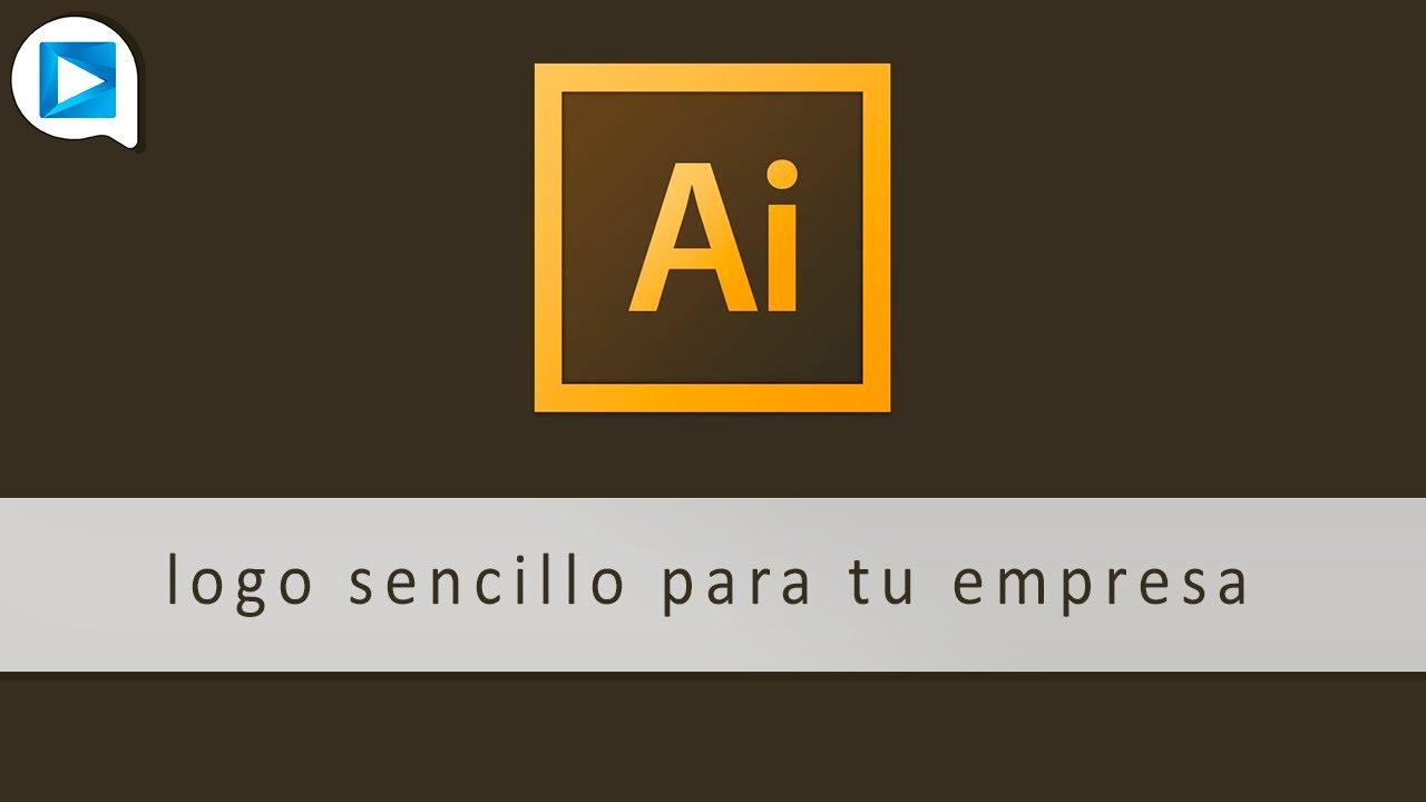 Illustrator c mo hacer un logo sencillo para tu empresa for Logos para editar