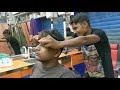 Masterstroke Head & Upper body Relaxing masage | Neck cracking | Indian ASMR
