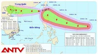 Siêu bão lần lượt chuẩn bị đổ bộ Biển Đông | Tin tức | Tin nóng mới nhất | ANTV