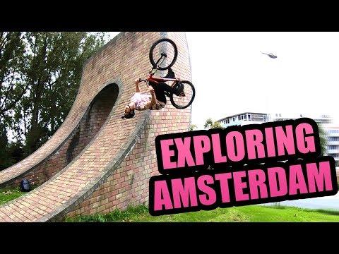 EXPLORING AMSTERDAM ON JUMP BIKES