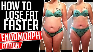 How To Lose Fat FASTER as an ENDOMORPH │ Gauge Girl Training