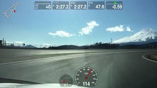 富士スピードウエーのスポーツ走行(T-4) に行ってきました スカイラインハイブリッド ノーマル タイヤ FALKEN FK510 ホイール RAYS VOLK G25 今日は混んでいたので今 ...