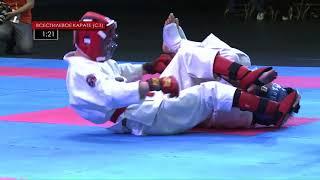 Дальневосточные юношеские игры боевых искусств 2018  День 3