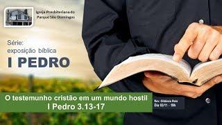 I. P. Pq. São Domingos - 03/11/2019 - O testemunho cristão em um mundo hostil