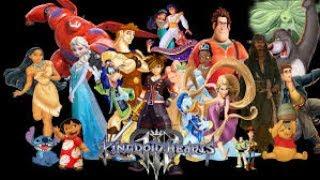 Kingdom hearts III wird weniger Disney Welten als Kingdom Hearts II haben [German/Deutsch]