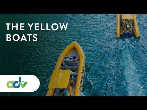 The Yellow Boats – boat tours Dubai   UAE 2019