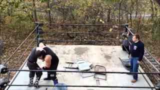 UNW Backyard Wrestling  Jamie vs Ben Jameson Devils Playground Match Non Title