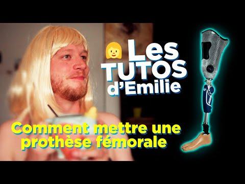 TUTO | Comment mettre une prothèse fémorale (parodie) | LES TUTOS d'EMILIE  - YouTube
