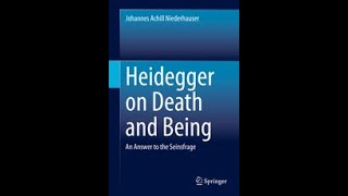 """Heidegger on Death and Being"" My book is out now!"
