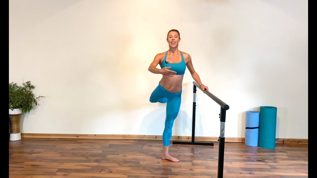 5 Minute Barre Exercise for Perfect Pro Dancer Legs