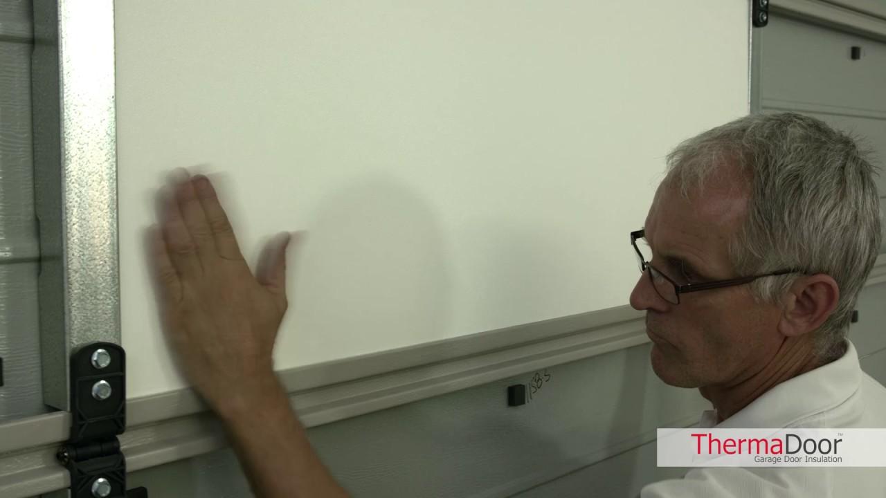 How to fit your thermadoor garage door insulation panels youtube how to fit your thermadoor garage door insulation panels rubansaba