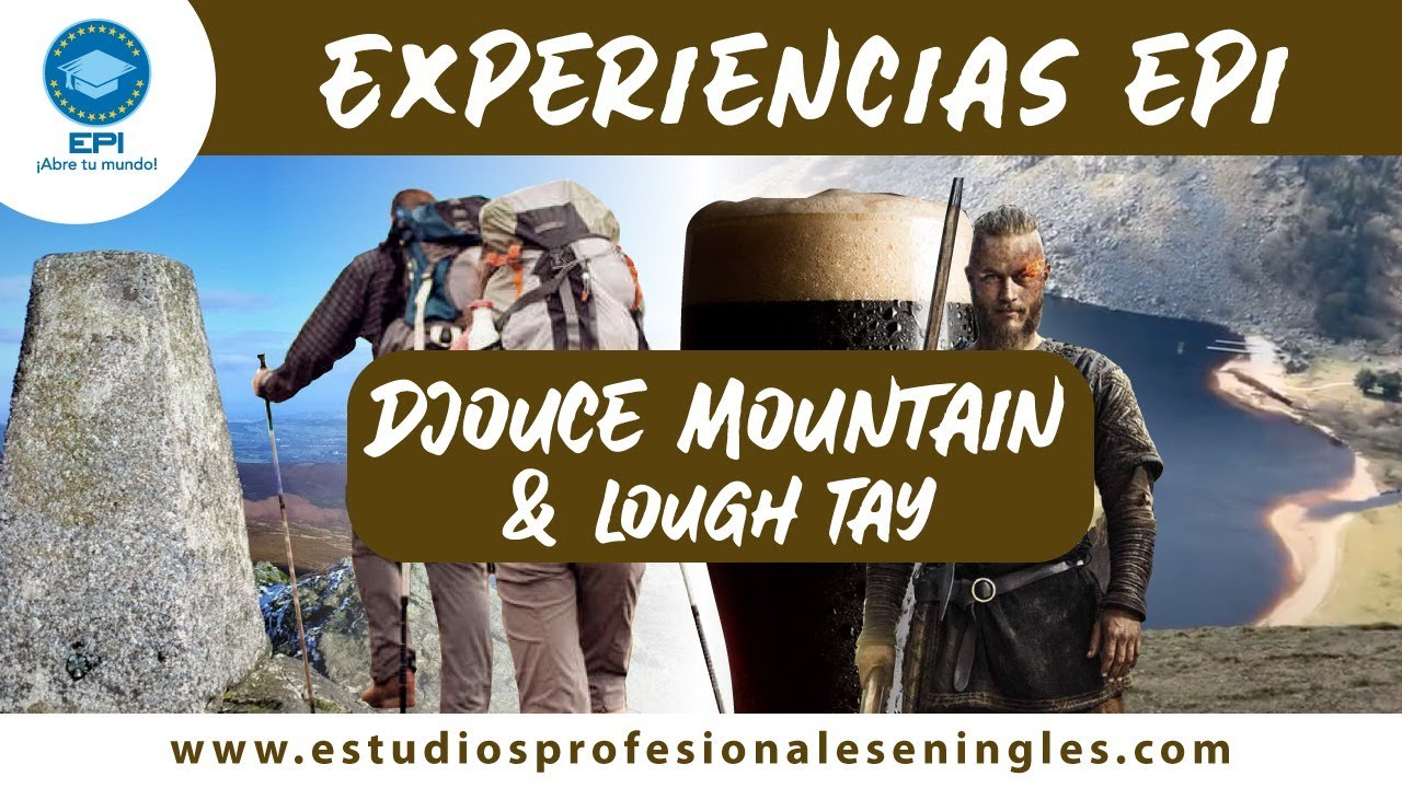 Djouce Mountain & Lough Tay en Irlanda una Experiencia EPI