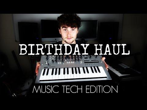 BIRTHDAY HAUL - Music Tech Edition