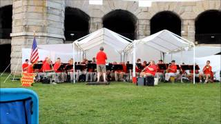 The Bath Municipal Band plays the Pan-American March by Karl L. King