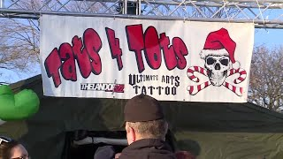 Tats For Tots Boosts Toys For Tots Donations