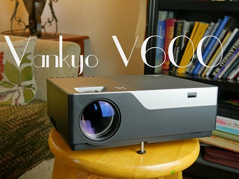 Best Midrange Video Projector? Vankyo V600 Native 1080p HD Full Review