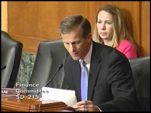 Thune at Senate Finance on Russia PNTR