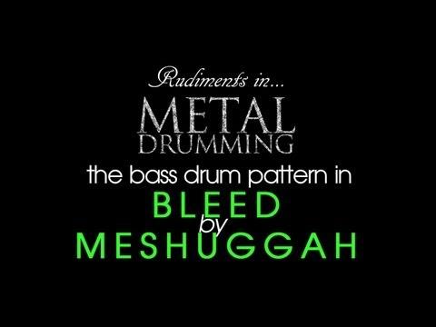 The Herta (The kick pattern in Bleed by Meshuggah)
