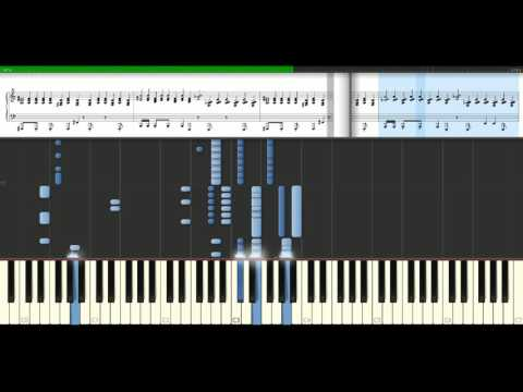 Danzel - You spin me round [Piano Tutorial] Synthesia