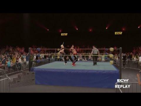 ECW Hardcore TV Episode 11 September 1994 - The Singapore Caning Match! (WWE 2K17 Universe)