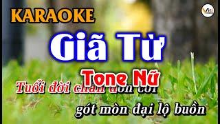 Giã Từ - KARAOKE [Tone Nữ] | Beat Hay