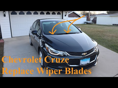 Chevrolet Cruze (2016-2019) - Replace Wiper Blades