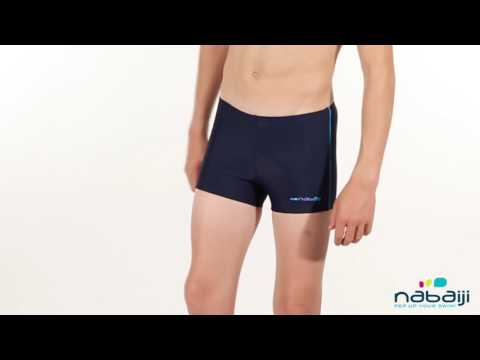 8a70e29c8 Sunga de natação Boxer B-Active infantil Nabaiji - Exclusividade Decathlon