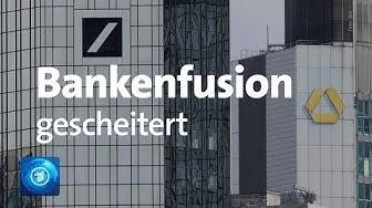 Zusammenschluss von Deutsche Bank und Commerzbank geplatzt