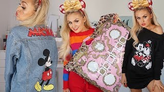 BOOHOO HAUL // DISNEY COLLECTION TRY ON //