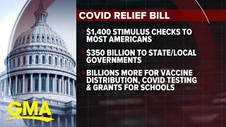 House sets to pass COVID-19 relief bill