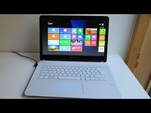 Sony Vaio Fit 14E Laptop / Notebook Unboxing & First impressions