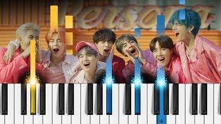 BTS (방탄소년단) - 작은 것들을 위한 시 (Boy With Luv) feat. Halsey - Piano Tutorial / Piano Cover
