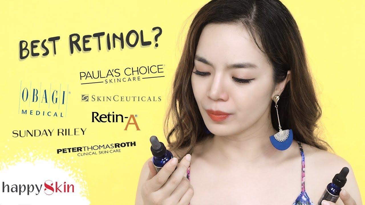 Review & so sánh 7 sản phẩm RETINOL cho da có vấn đề ✨ | BEST RETINOL | Happy Skin