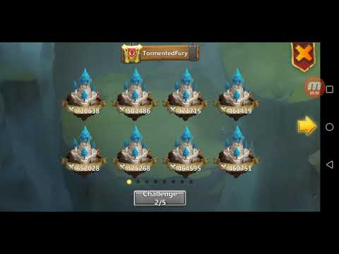 Guild War Castle Clash. Top Opponent
