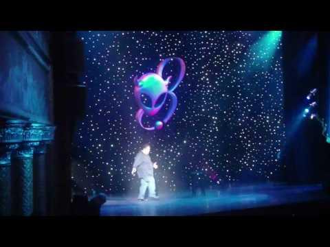 Joe Rogan's Spike TV comedy special stage