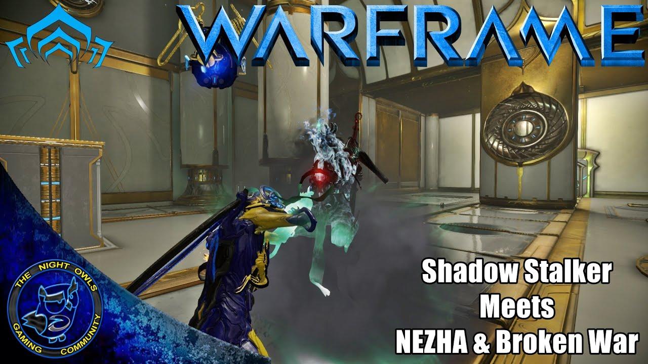 Warframe Shadow Stalker Meets Nezha