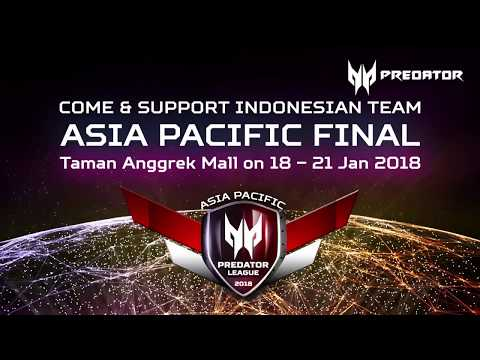 Come to APAC Predator League Grand Final in Jakarta!