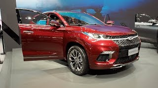 The ALL NEW Chery Exeed TX 2018 In detail review walkaround Interior Exterior