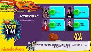 Nickelodeon Kids Choice Award 2015 - Favorite Asian Act