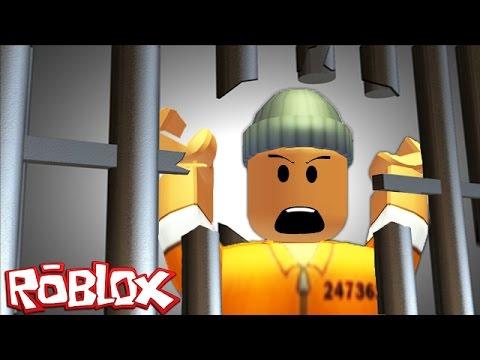 ESCAPING PRISON IN ROBLOX