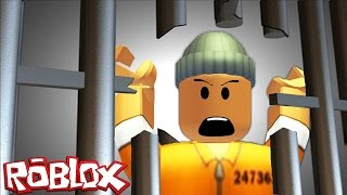 ESCAPING PRISON IN ROBLOX