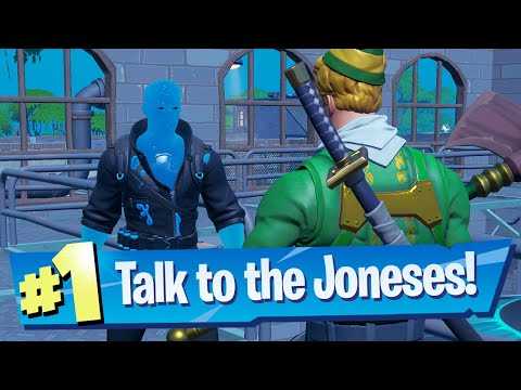 Talk to the Joneses Location – Fortnite