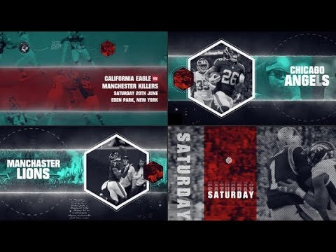 Sport Tournament - After Effects template - 동영상