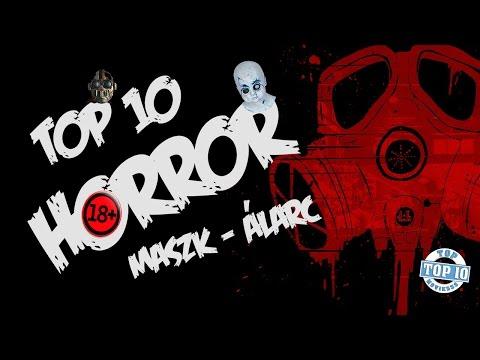 TOP 10 HORROR ÁLARC/MASZK - Legjobb horror álarcok TOP MOVIESSS