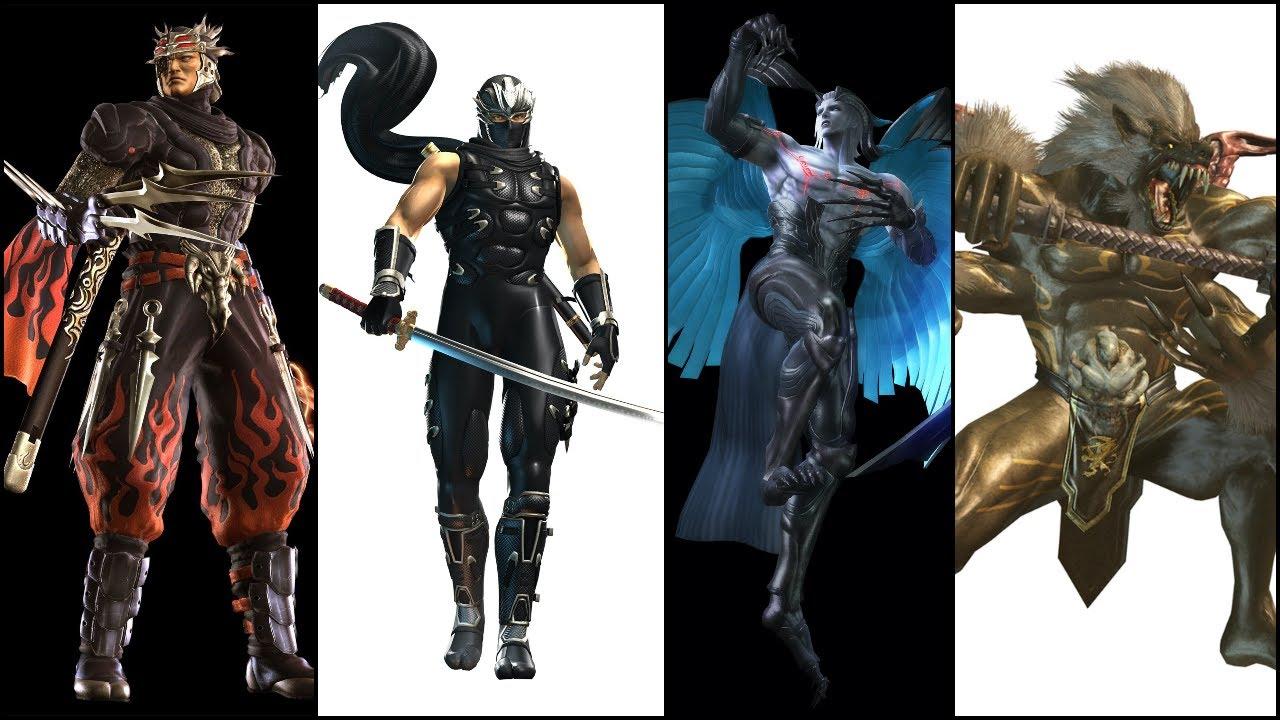 Ninja Gaiden 2 All Bosses With Cutscenes Hd Youtube