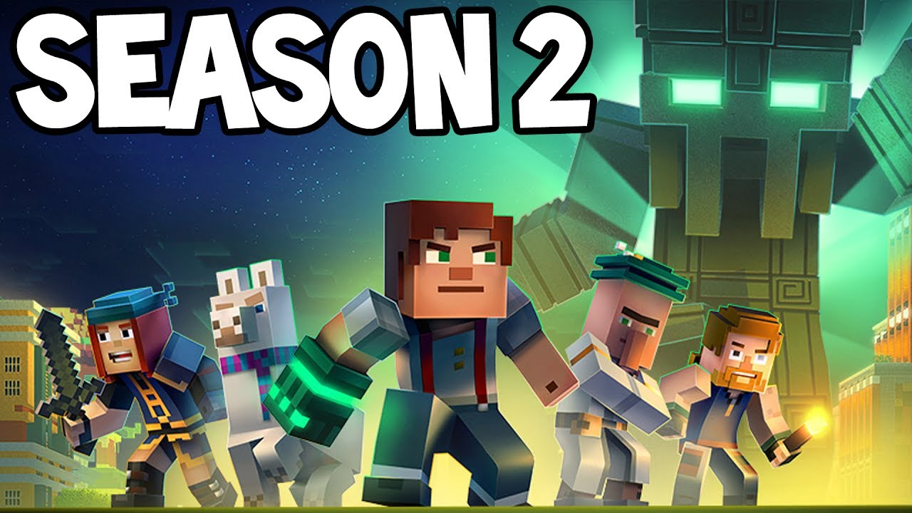 Minecraft Story Mode Season 2 New Release First Look Youtube