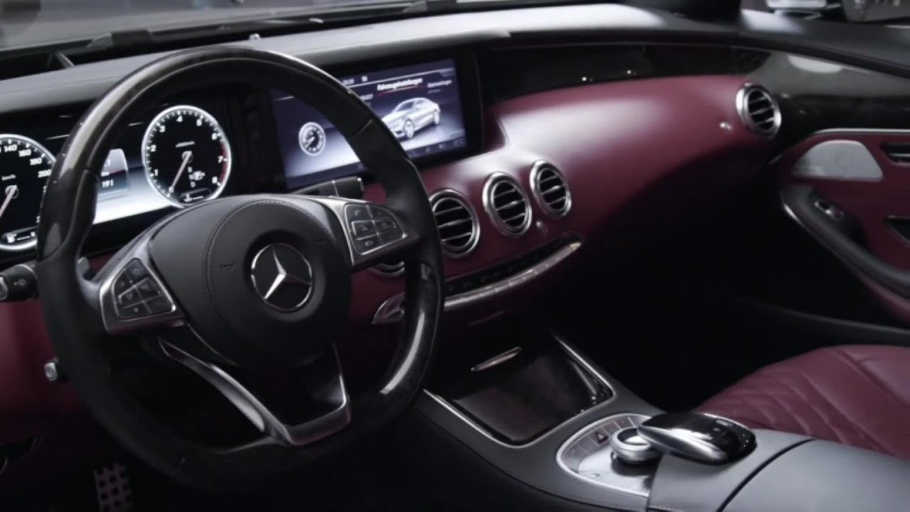 S Class Coupe >> 2015 Mercedes Benz S-Class INTERIOR VIEW - YouTube
